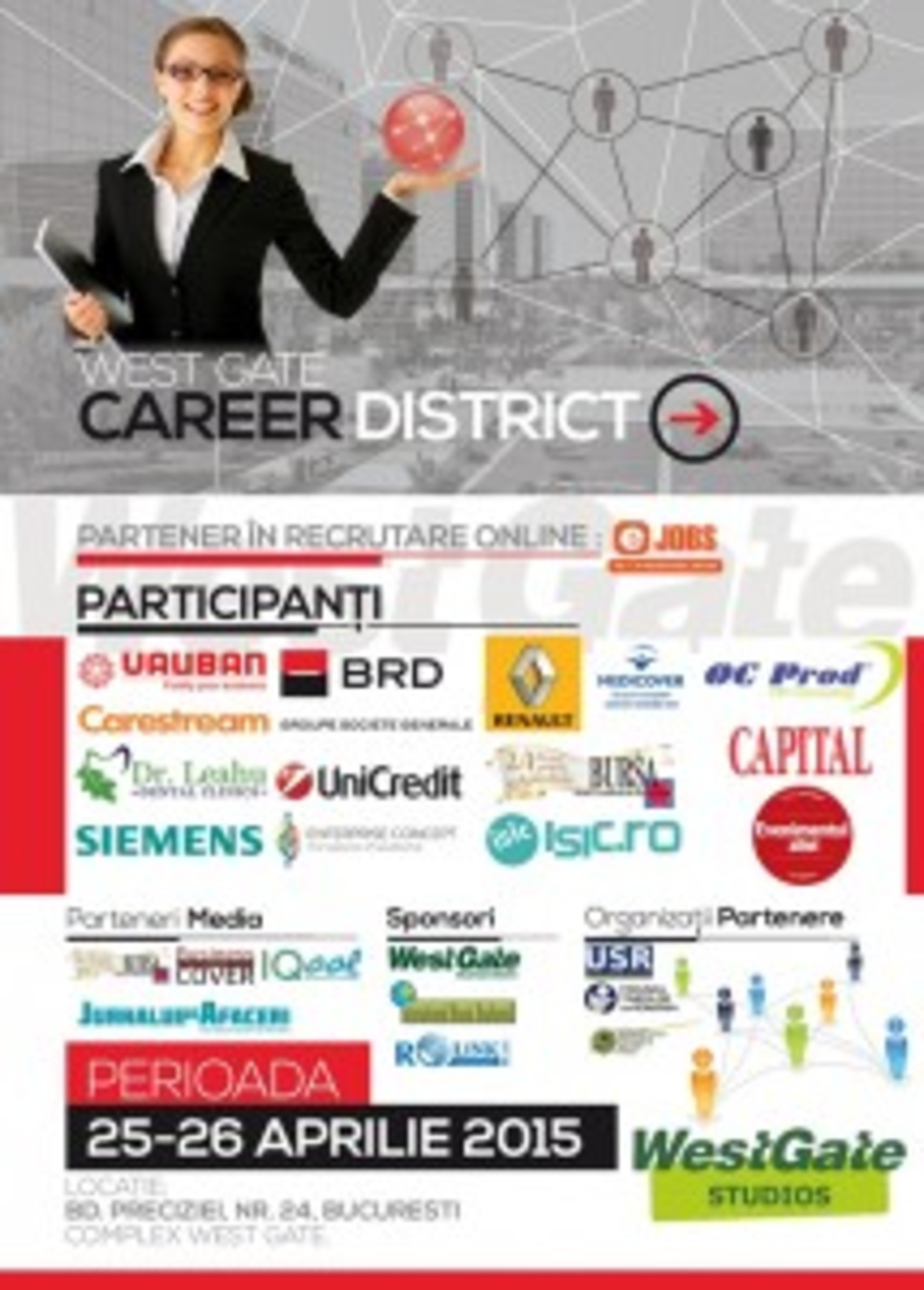 West Gate Career District website