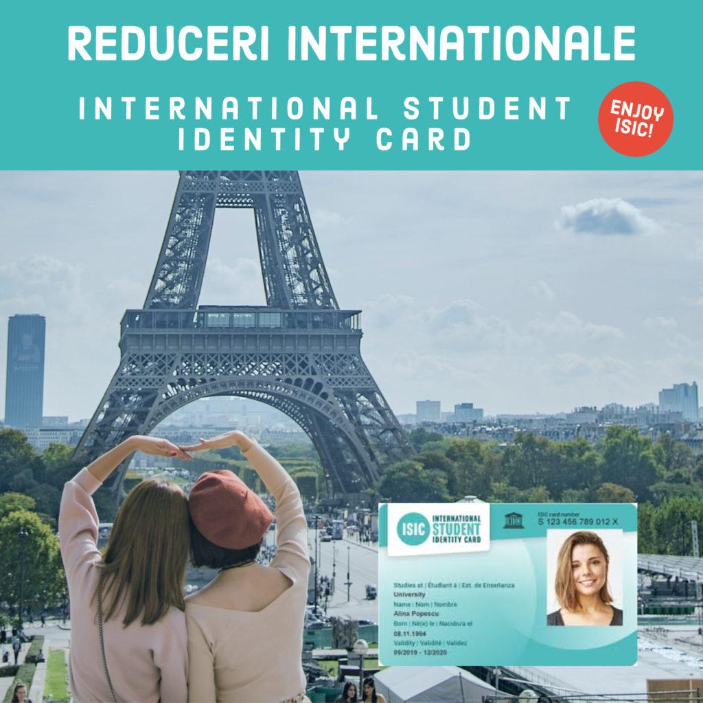 Reduceri internationale ISIC